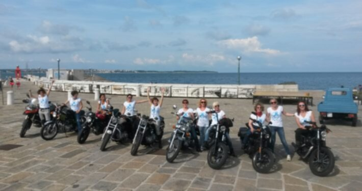 be pink viaggi in moto per donne