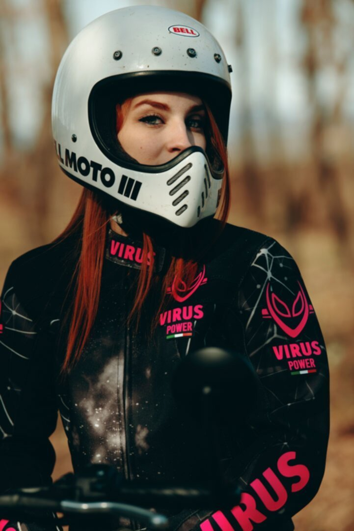 Abbigliamento virus donna giacca