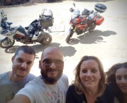 Motociclisti Veg viaggi