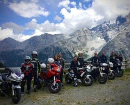 Motociclisti Veg raduno